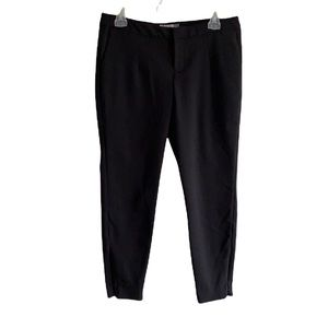 Old Navy Fitted Mid Rise Black Jack Dress Pants